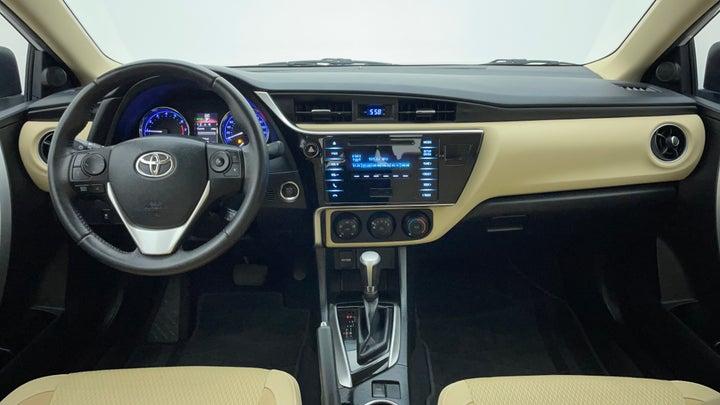 Toyota Corolla-Dashboard View