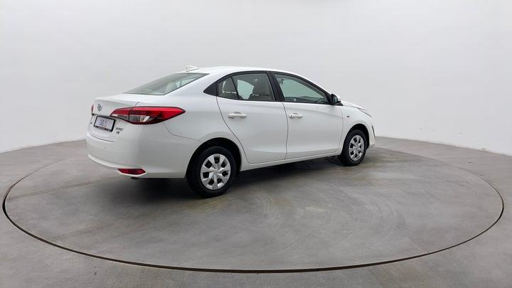 Toyota Yaris-Right Back Diagonal (45- Degree) View