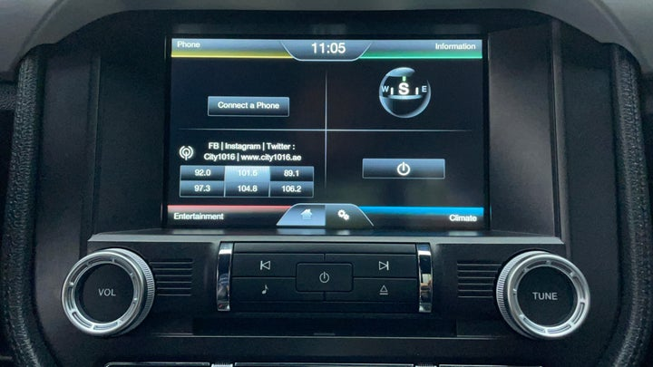 Ford Mustang-Infotainment System