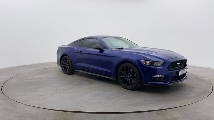 Ford Mustang-Right Front Diagonal (45- Degree) View