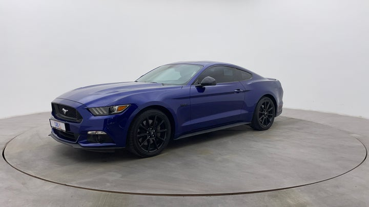 Ford Mustang-Left Front Diagonal (45- Degree) View