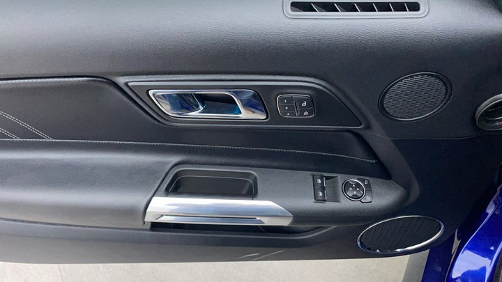 Ford Mustang-Driver Side Door Panels Controls