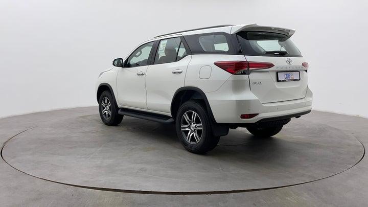 Toyota Fortuner-Left Back Diagonal (45- Degree) View