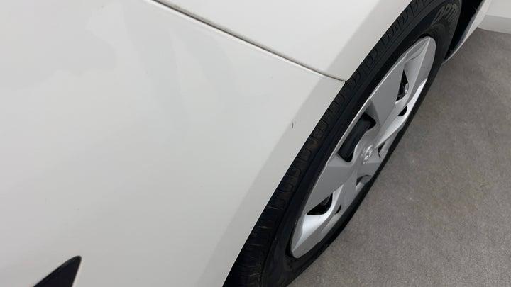 Toyota Yaris-Bumper Front Bumper Minor Scratches
