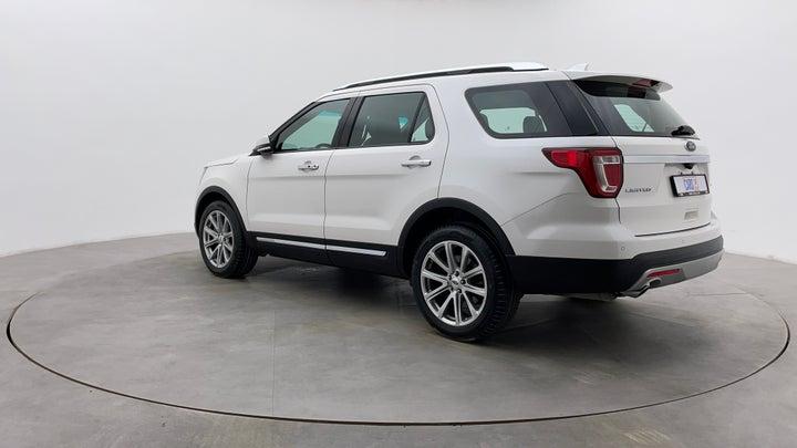 Ford Explorer-Left Back Diagonal (45- Degree) View