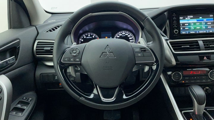 Mitsubishi Eclipse Cross-Steering Wheel Close-up