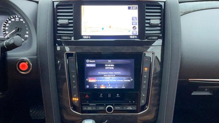 Nissan Patrol-Center Console