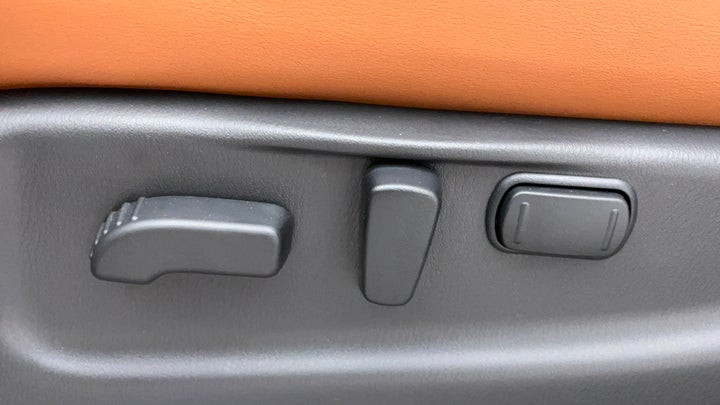 Nissan Patrol-Driver Side Adjustment Panel