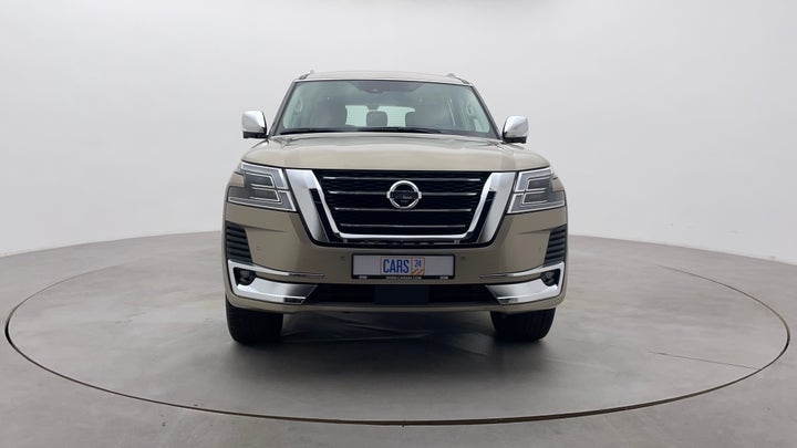 Nissan Patrol-Front View