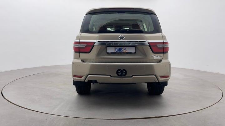 Nissan Patrol-Back/Rear View