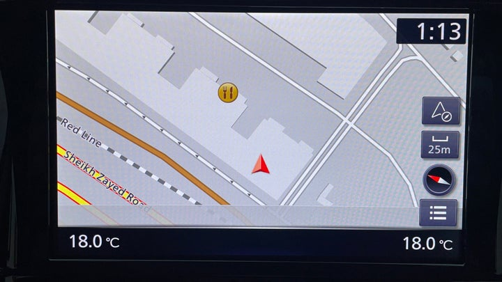 Nissan Patrol-Navigation System