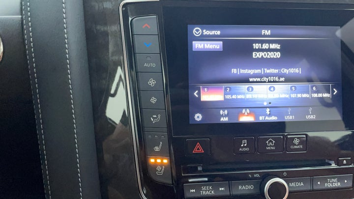 Nissan Patrol-Automatic Climate Control