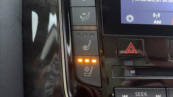 Nissan Patrol-Ventilated Seats