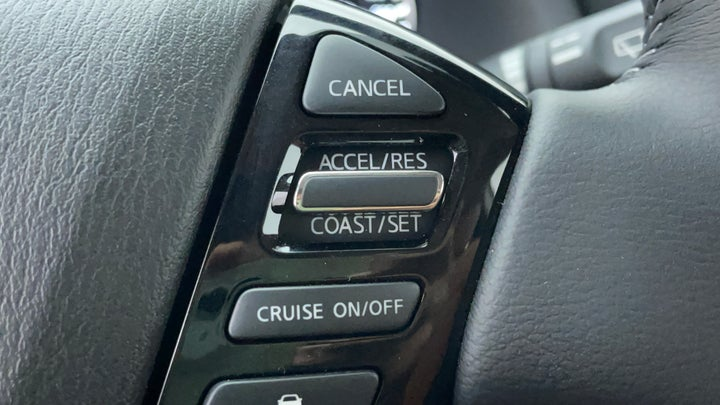 Nissan Patrol-Cruise Control