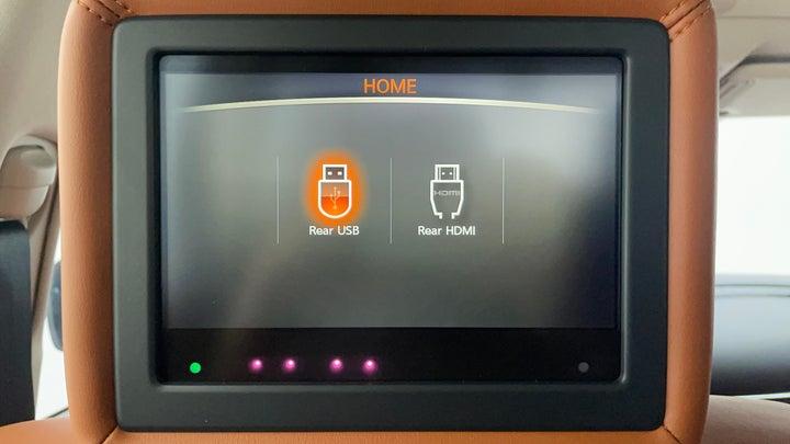 Nissan Patrol-Display Screen For Rear Passengers