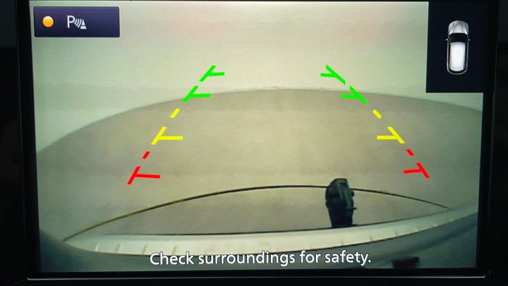Nissan Patrol-Parking Camera (Rear View)