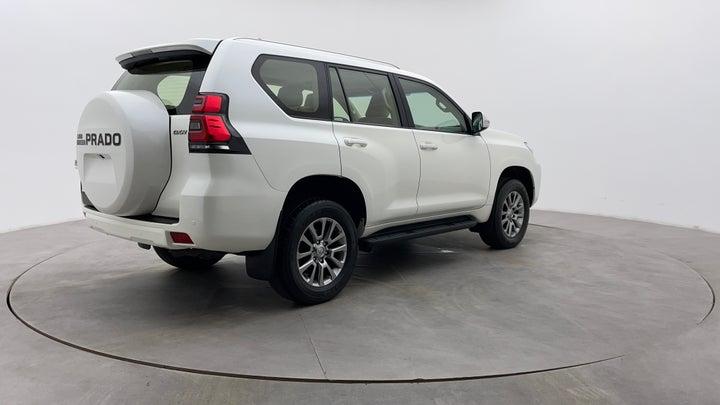 Toyota Land Cruiser Prado-Right Back Diagonal (45- Degree) View