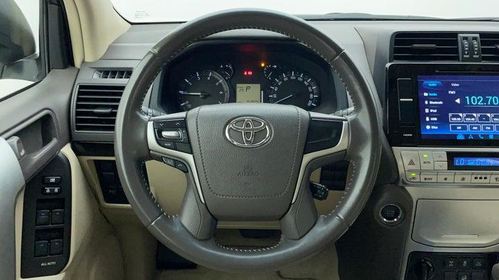 Toyota Land Cruiser Prado-Steering Wheel Close-up