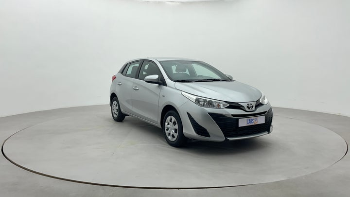 Toyota Yaris-Right Front Diagonal (45- Degree) View