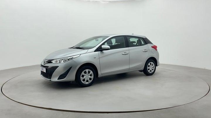 Toyota Yaris-Left Front Diagonal (45- Degree) View