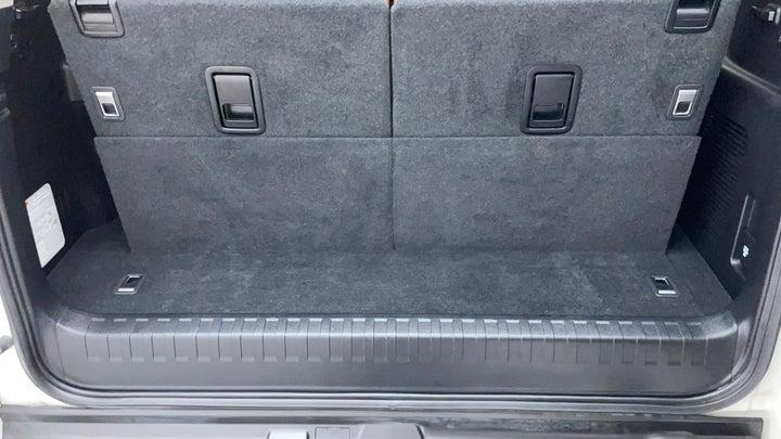 Toyota Land Cruiser Prado-Boot Inside View