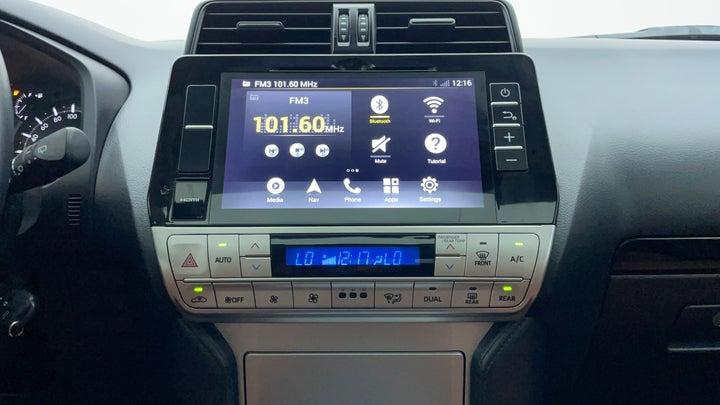 Toyota Land Cruiser Prado-Center Console