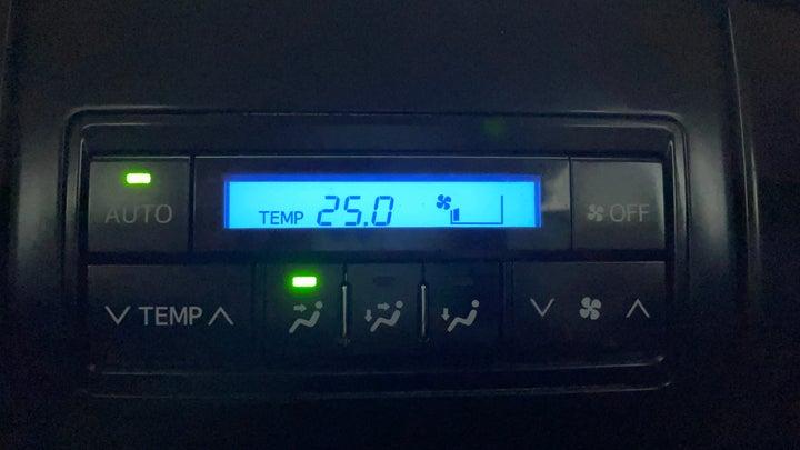 Toyota Land Cruiser Prado-Rear AC Temperature Control