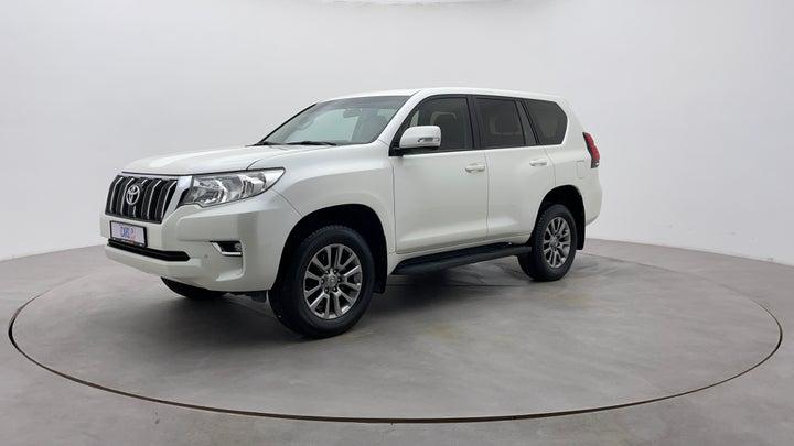 Toyota Land Cruiser Prado-Left Front Diagonal (45- Degree) View