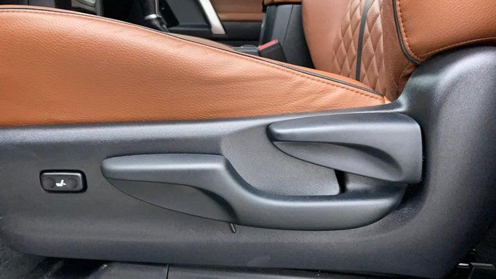 Toyota Land Cruiser Prado-Driver Side Adjustment Panel