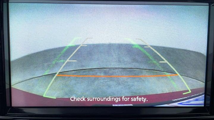 Mitsubishi Eclipse Cross-Parking Camera (Rear View)