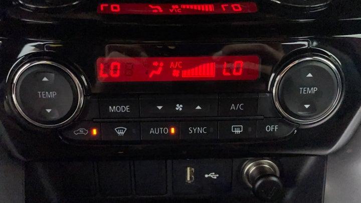 Mitsubishi Eclipse Cross-Automatic Climate Control
