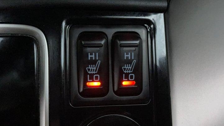 Mitsubishi Eclipse Cross-Heated Seats