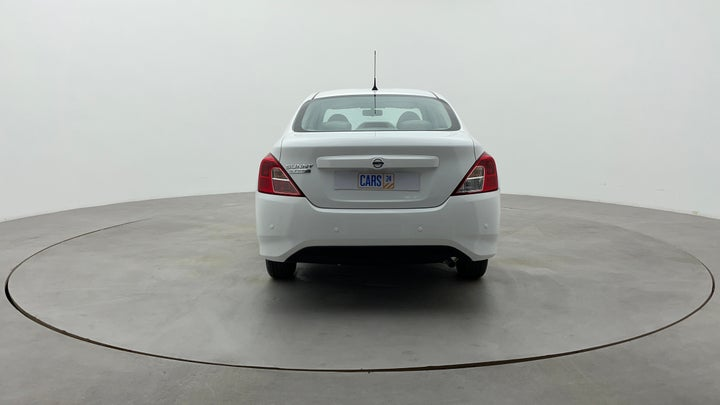 Nissan Sunny-Back/Rear View