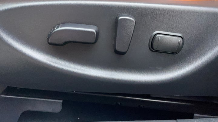 Nissan Maxima-Driver Side Adjustment Panel