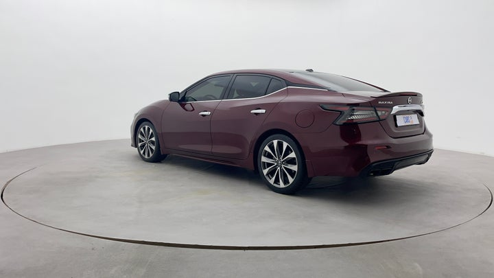 Nissan Maxima-Left Back Diagonal (45- Degree) View