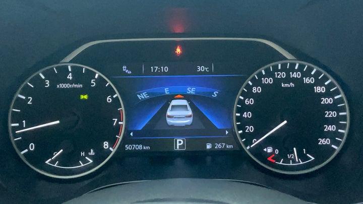 Nissan Maxima-Odometer View
