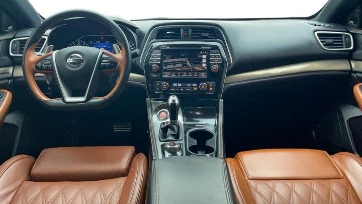 Nissan Maxima-Dashboard View
