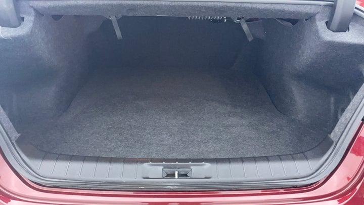 Nissan Maxima-Boot Inside View