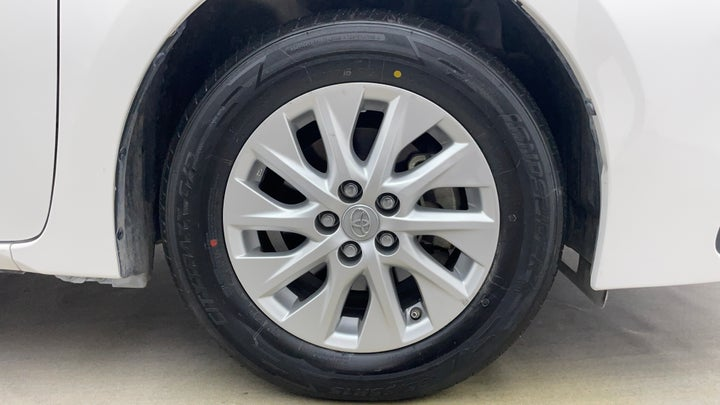 Toyota Corolla-Right Front Tyre