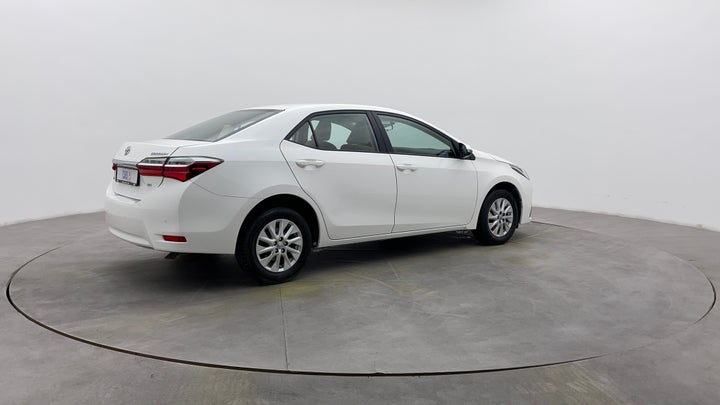 Toyota Corolla-Right Back Diagonal (45- Degree) View