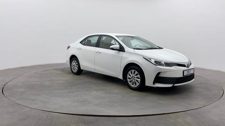 Toyota Corolla-Right Front Diagonal (45- Degree) View