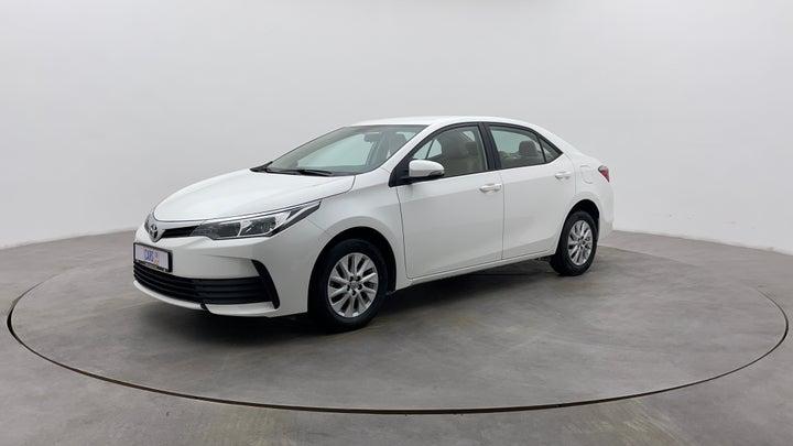 Toyota Corolla-Left Front Diagonal (45- Degree) View
