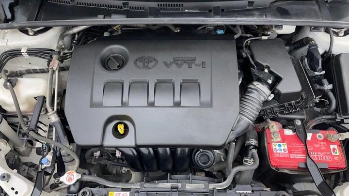 Toyota Corolla-Engine Bonet View