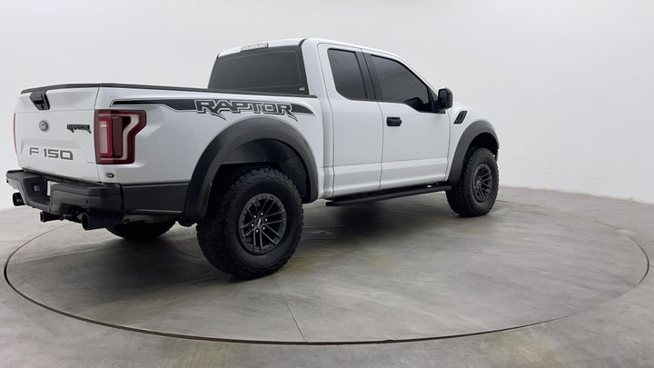 Ford F 150 RAPTOR-Right Back Diagonal (45- Degree) View
