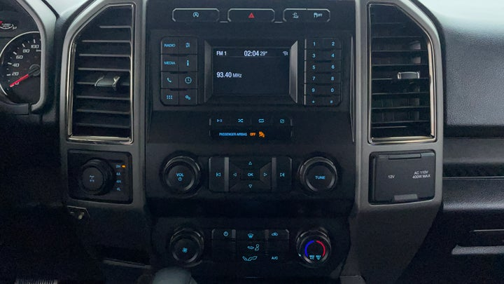 Ford F 150 RAPTOR-Center Console