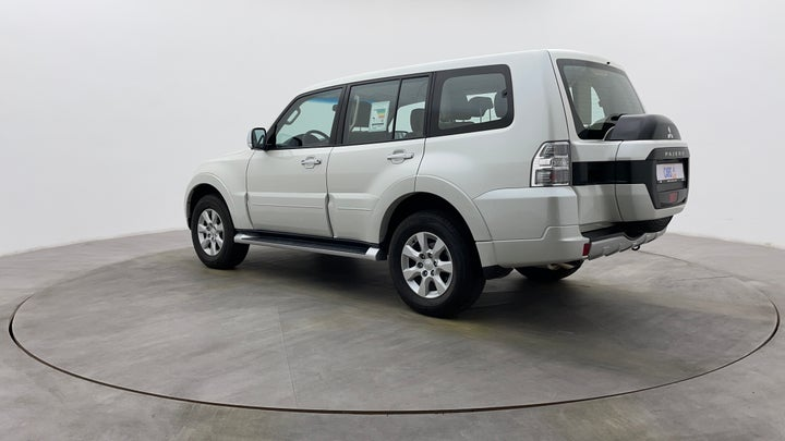Mitsubishi Pajero-Left Back Diagonal (45- Degree) View