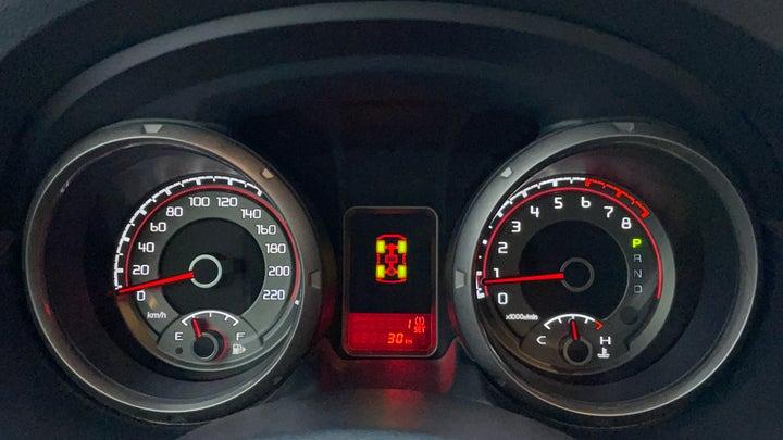 Mitsubishi Pajero-Odometer View