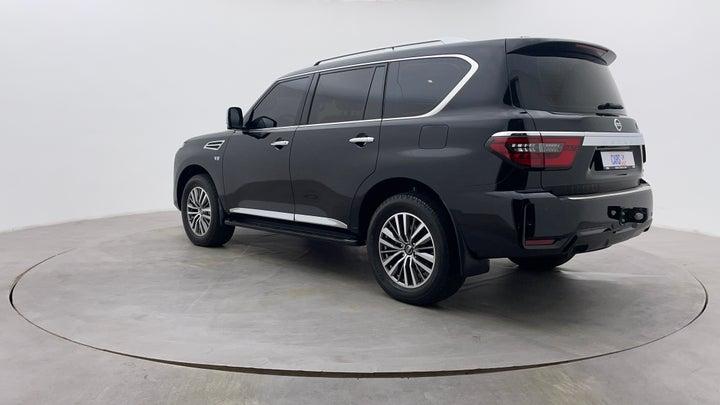Nissan Patrol-Left Back Diagonal (45- Degree) View