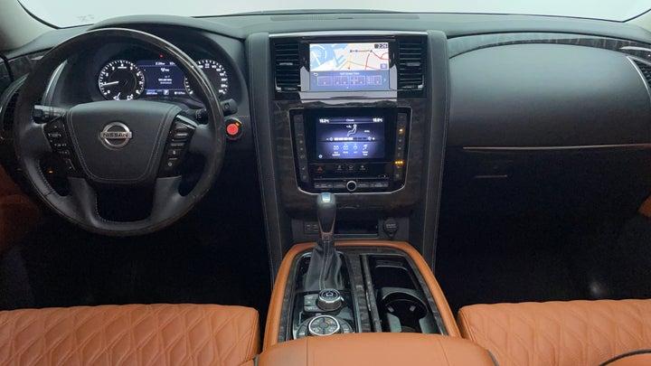 Nissan Patrol-Dashboard View