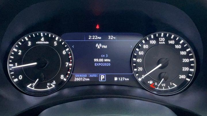 Nissan Patrol-Odometer View